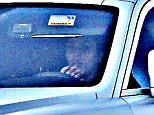 Please contact X17 before any use of these exclusive photos - x17@x17agency.com   EXCLUSIVE - Kim Kardashian is seen driving her Rolls Royce on her way to visit sister Khloe Kardashian. Khloe returned home yesterday evening with Lamar Odom who was airlifted from Sunrise Hospital in Las Vegas to Cedars Sinai Hospital in Los Angeles. October 20, 2015. X17online.com