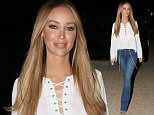 LAUREN POPE SEEN FOR FIRST TIME SINCE QUITTING TOWIE. LAUREN WAS SEEN LEAVING HER MANAGEMENT OFFICE IN LONDON. TUESDAY 20TH OR 2015 - MAGICMOMENTSUK - 07753 30 30 77
