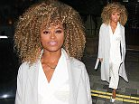 Picture Shows: Fleur East  October 20, 2015: October 20, 2015\n \n 'The X Factor' 2015 runner-up Fleur East arrives at the listening party for her debut album at the Ham Yard Hotel in London, UK. Fleur looked sensational in a white ensemble underneath a grey coat.\n \n Non-Exclusive\n WORLDWIDE RIGHTS\n \n Pictures by : FameFlynet UK © 2015\n Tel : +44 (0)20 3551 5049\n Email : info@fameflynet.uk.com