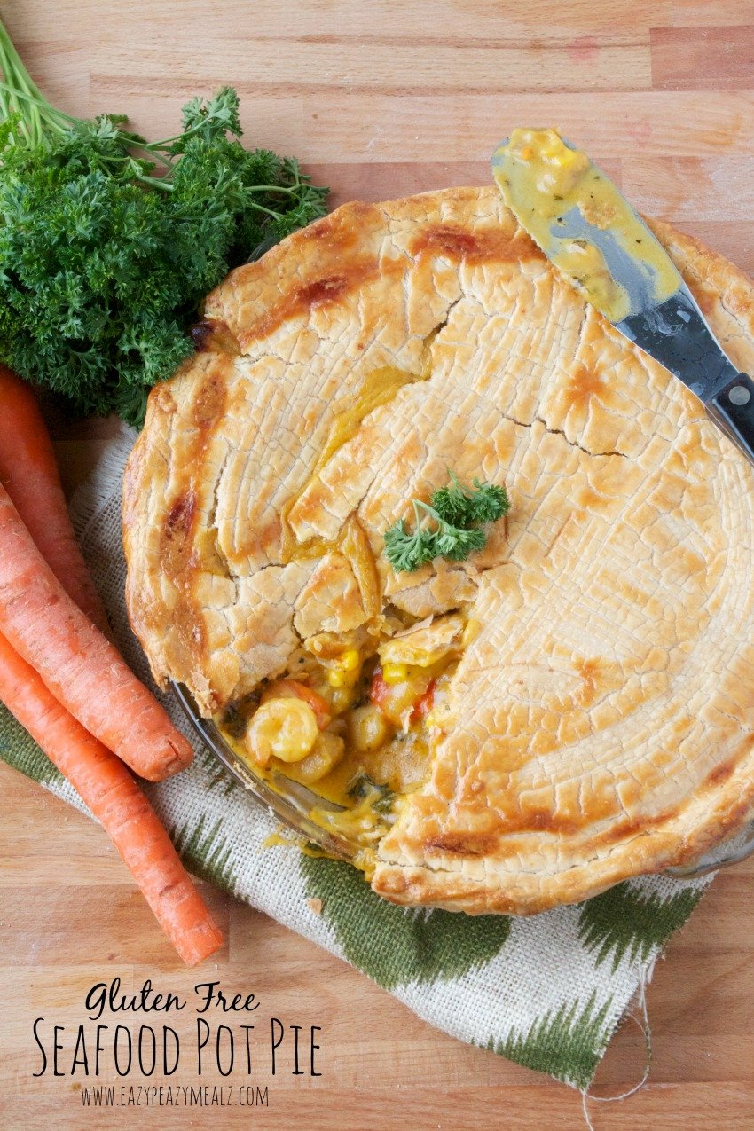 gluten free seafood pot pie meal seafood glutenfree Bobsredmill Gluten Free Seafood Pot Pie