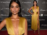 NEW YORK, NY - OCTOBER 19:  Model Shanina Shaik attends Angel Ball 2015 hosted by Gabrielle's Angel Foundation at Cipriani Wall Street on October 19, 2015 in New York City.  (Photo by Bryan Bedder/Getty Images for Gabrielle's Angel Foundation)
