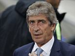 Football - Manchester City v Sevilla - UEFA Champions League Group Stage - Group D - Etihad Stadium, Manchester, England - 21/10/15  Manchester City manager Manuel Pellegrini  Reuters / Phil Noble  Livepic  EDITORIAL USE ONLY.