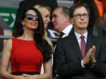 LIVERPOOL V BOURNEMOUTH - Football Premier League - Liverpool, UK - Pic shows:-  Liverpool owner John William Henry II. PIcture by Ian Hodgson/Daily Mail