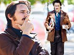 "A moustached James Franco seen filming ""The Deuce"" in Brooklyn,New York\n\nPictured: James Franco\nRef: SPL1157560  211015  \nPicture by: RobO/Splash News\n\nSplash News and Pictures\nLos Angeles: 310-821-2666\nNew York: 212-619-2666\nLondon: 870-934-2666\nphotodesk@splashnews.com\n"