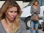 """*EXCLUSIVE* No makeup no problem for Brandi Glanville! The 42-year old best selling author and former Real Housewives of Beverly Hills star dared to go bare on errands in Calabasas, Calif. The outspoken blonde recently came under fire for advice she gave about dating to her 12-year old son, """"ask if they're a virgin"""" she advised the boy.\\n\\nPictured: Brandi Glanville\\nRef: BLNKP1158 101915\\nPhoto credit: blink-news.com\\nBlink News Los Angeles 424-270-9694\\ngo@blink-news.com"""