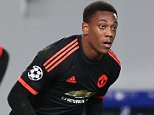 MOSCOW, RUSSIA - OCTOBER 21:  Anthony Martial of Manchester United celebrates scoring his team's first goal during the UEFA Champions League Group B match between CSKA Moskva and Manchester United at Arena Khimki on October 21, 2015 in Moscow, Russia.  (Photo by Matthew Peters/Man Utd via Getty Images)