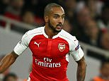 Theo Walcott of Arsenal   during the UEFA Champions League Group F match between Arsenal and Bayern Munich played at the Emirates Stadium, London on October 20th 2015