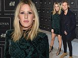 NEW YORK, NY - OCTOBER 20:  Singers Ellie Goulding and Dougie Poynter attend the BALMAIN X H&M Collection Launch at 23 Wall Street on October 20, 2015 in New York City.  (Photo by Dimitrios Kambouris/Getty Images for H&M)