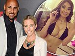 Mandatory Credit: Photo by Startraks Photo/REX Shutterstock (4515966af).. Hank Baskett and Kendra Wilkinson.. 'Dead Rising: Watchtower' film premiere, Los Angeles, America - 11 Mar 2015.. ..