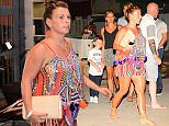 "***MINIMUM FEE TO BE AGREED BEFORE USE*** Coleen Rooney was spotted with sons Kai, five, and Klay, three, at a raunchy drag show on Sunday night. The bustling nightspot, Ragamuffins Bar & Restaurant, is infamous on the Caribbean island for hosting outrageous drag shows involving strapping 6ft tall bikini-clad men. Coleen, 29, who arrived on the island last week, for her annual Caribbean getaway was seen singing along to a number of hits as she partied at the venue in Holetown, on the west coast of Barbados. Shockingly, the show, which attracts hundreds of tourists each week, is known for getting so raucous that the dancers arm themselves with truncheons in case any revelers get out of hand.  But despite the adult theme, the restaurant encourages families to attend the late night party referring to its younger patrons as the Raga Kids. During the show, which is described by the restaurant as a ""Big party situation"", the Rooney clan were serenaded by three burly men dressed in tradition"