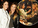 October 20, 2015: Bethenny Frankel shows off her new haircut while filming scenes for 'The Real Housewives of New York City' with co-star Carole Radziwill in New York City.\nMandatory Credit: Elder Ordonez/INFphoto.com Ref: infusny-160