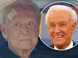 EXCLUSIVE: *PREMIUM EXCLUSIVE RATES APPLY* TV legend Bob Barker with a bandaged head a day after falling outside his home.\nThe 91-year-old was being driven in Los Angeles after tripping and hitting his head on a sidewalk.\n\nPictured: Bob Barker\nRef: SPL1156838  211015   EXCLUSIVE\nPicture by: Splash News\n\nSplash News and Pictures\nLos Angeles: 310-821-2666\nNew York: 212-619-2666\nLondon: 870-934-2666\nphotodesk@splashnews.com\n