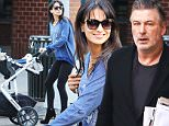 Mandatory Credit: Photo by Startraks Photo/REX Shutterstock (5287992m)\n Hilaria Baldwin with Rafael Thomas\n Alec Baldwin and Hilaria Baldwin out and about, New York, America - 21 Oct 2015\n Hilaria Baldwin spotted out with baby Rafael Thomas\n