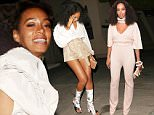 EXCLUSIVE: Solange Knowles dine out at Bouchon Bistro ,in Beverly Hills, CA\n\nPictured: Solange Knowles\nRef: SPL1157326  201015   EXCLUSIVE\nPicture by: Roshan Perera\n\nSplash News and Pictures\nLos Angeles: 310-821-2666\nNew York: 212-619-2666\nLondon: 870-934-2666\nphotodesk@splashnews.com\n