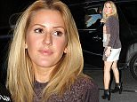 21.OCTOBER.2015 - LOS ANGELES Ò USA ELLIE GOULDING LEAVING HER HOTEL IN NYC ON HER WAY TO THE AIRPORT. *AVAILABLE FOR UK SALE ONLY* BYLINE MUST READ : XPOSUREPHOTOS.COM ***UK CLIENTS - PICTURES CONTAINING CHILDREN PLEASE PIXELATE FACE PRIOR TO PUBLICATION *** **UK CLIENTS MUST CALL PRIOR TO TV OR ONLINE USAGE PLEASE TELEPHONE  44 208 344 2007 ***