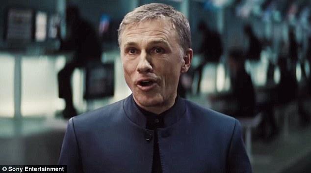 Supervillain: Spectre stars newcomer Christoph Waltz as Bond's nemesis,Franz Oberhauser