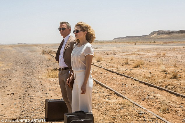 Welcome: Léa Seydoux stars as Madeleine Swann, the daughter of the lead protagonist's enemy Mr White