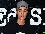 """Justin Bieber attends the """"Ed Sheeran Jumpers For Goal Posts, Live At Wembley"""" World Premier at Odeon Leicester Square, London on 22nd October 2015."""