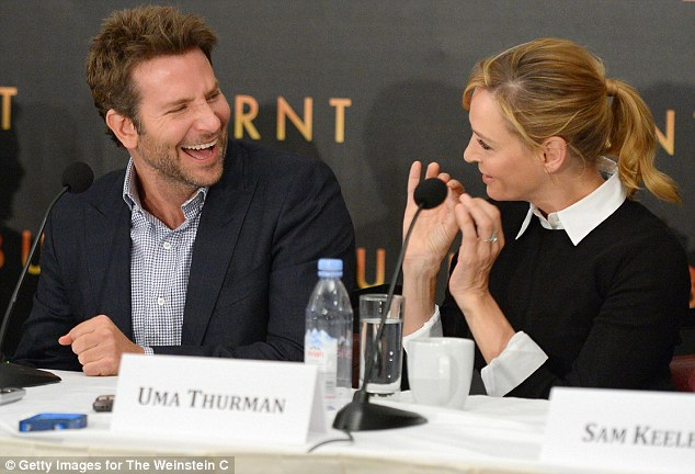Who needs The Producers: Uma had everyone enraptured and Bradley in fits of laughter with her tales