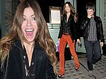 Celebrities leaving Sexy Fish restaurant in Mayfair Featuring: Noel Gallagher, Sara MacDonald Where: London, United Kingdom When: 21 Oct 2015 Credit: WENN.com