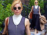 ***MANDATORY BYLINE TO READ INFPhoto.com ONLY*** Sienna Miller looking stylish while out and about in SoHo, New York City.  Pictured: Sienna Miller Ref: SPL1157465  211015   Picture by: Alberto Reyes/INFphoto.com