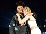 EAST RUTHERFORD, NJ - JULY 10:  Singer/songwriter Taylor Swift performs onstage with The Weeknd during The 1989 World Tour Live at MetLife Stadium on July 10, 2015 in East Rutherford, New Jersey.  (Photo by Kevin Mazur/LP5/WireImage)