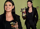NEW YORK, NY - OCTOBER 20:  Global brand partner Mila Kunis attends the Jim Beam Bourbon launch event for its newest flavored product  Jim Beam Apple  at The Paramount Hotel on Tuesday, October 20, 2015 in New York City.  (Photo by Bryan Bedder/Getty Images for Jim Beam)