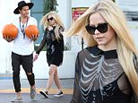 **EXCLUSIVE**  Date: October 20th 2015   Photo Credit: MOVI Inc.  For Usage Call: +1 310 739 4693\nOnly a month after announcing her split from  her last husband singer Avril Lavigne has been spotted seemingly very relaxed, almost too relaxed judging by her unfortunate waldrobe malfunction, with fellow rocker and notorious ladies man Ryan Cabrera. The pair seemed at ease with each other as they got into the Halloween spirit picking up some pumpkins from a Beverly Hills,Ca supermarket before being driven back to Lavigne's pad by an assistant. Lavigne was sporting a see through skeleton themed blouse with a tank top underneath which had slid down to reaveal a little too much.\n