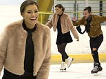 EMBARGOED: STRICTLY NOT FOR PUBLICATION UNTIL 00.01HOURS THURSDAY 22ND OCTOBER 2015  Mandatory Credit: Photo by Simon Ford/REX Shutterstock (5280251m)  Jessica Wright and Peter Wicks ice skating  'The Only Way is Essex' cast filming, Brentwood, Britain - 20 Oct 2015  Jess Wright and Peter 'The Pirate' Wicks enjoy a date on ice