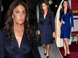 UK CLIENTS MUST CREDIT: AKM-GSI ONLY\nEXCLUSIVE: Los Angeles, CA - Caitlyn Jenner steps out solo after a dinner at Jon & Vinny's Italian restaurant in Los Angeles. The 'I Am Cait' star wore a navy blue dress with plunging neckline, black high heels and a matching black designer bag.\n\nPictured: Caitlyn Jenner\nRef: SPL1158547  221015   EXCLUSIVE\nPicture by: AKM-GSI \n\n