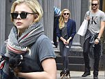 NEW YORK, NY - OCTOBER 22:  Chloe Grace Moretz and Trevor Duke Moretz are seen in Soho on October 22, 2015 in New York City.  (Photo by Alo Ceballos/GC Images)