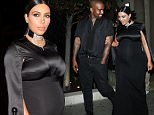 A Pregnant Kim Kardashian And Kanye West Leave Bouchon Restaurant After having Dinner in Beverly Hills  Pictured: Kim Kardashian And Kanye West Ref: SPL1156988  201015   Picture by: Photographer Group / Splash News  Splash News and Pictures Los Angeles: 310-821-2666 New York: 212-619-2666 London: 870-934-2666 photodesk@splashnews.com