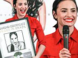 Sao Paulo, Brazil - Demi Lovato promotes her latest album 'Confident' and receives a Diamond Certificate after selling 160.000 copies in just a few months!\nAKM-GSI          October 21, 2015\nTo License These Photos, Please Contact :\nSteve Ginsburg\n(310) 505-8447\n(323) 423-9397\nsteve@akmgsi.com\nsales@akmgsi.com\nor\nMaria Buda\n(917) 242-1505\nmbuda@akmgsi.com\nginsburgspalyinc@gmail.com