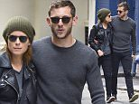 NEW YORK, NY - OCTOBER 22:  Kate Mara and Jamie Bell are seen in Soho on October 22, 2015 in New York City.  (Photo by Alo Ceballos/GC Images)
