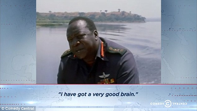 'I have got a very good brain,' dictator Idi Amin once said, confident no one would dare to disagree