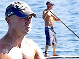Picture Shows: Kenny Chesney  October 21, 2015\n \n Country music star Kenny Chesney enjoys a day at the beach in Malibu, California. \n \n Kenny started out with some paddleboarding before hitting the sand to play bocce ball with surfer Laird Hamilton.\n \n Exclusive - All Round\n UK RIGHTS ONLY\n \n Pictures by : FameFlynet UK © 2015\n Tel : +44 (0)20 3551 5049\n Email : info@fameflynet.uk.com