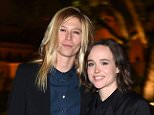 ROME, ITALY - OCTOBER 18:  Samantha Thomas and Ellen Page attend 'Ellen Page, A Tribute To Commitment' dinner gala during the 10th Rome Film Fest on October 18, 2015 in Rome, Italy.  (Photo by Venturelli/Getty Images)