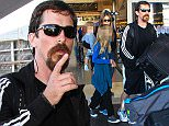 LOS ANGELES, CA, USA - OCTOBER 21: Actor Christian Bale, wife Sibi Blazic and children Emmeline Bale and Joseph Bale seen at LAX Airport on October 21, 2015 in Los Angeles, California, United States. (Photo by Image Press/Splash News)\n\nPictured: Christian Bale, Sibi Blazic, Emmeline Bale, Joseph Bale\nRef: SPL1158171  211015  \nPicture by: Image Press / Splash News\n\nSplash News and Pictures\nLos Angeles: 310-821-2666\nNew York: 212-619-2666\nLondon: 870-934-2666\nphotodesk@splashnews.com\n
