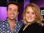 Radio One - TWITTER.jpg  Adele gives Nick Grimshaw first play of long-awaited new single Hello on his Radio 1 breakfast show