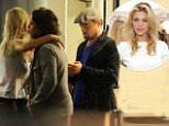 Leonardo DiCaprio and his girlfriend Kelly Rohrbach