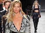 Mandatory Credit: Photo by Startraks Photo/REX Shutterstock (5280330t)  Karlie Kloss  Balmain x H&M Collection Launch, New York, America - 20 Oct 2015  BALMAIN X H&M Collection Launch - Runway