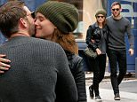 Actress Kate Mara and her boyfriend Jamie Bell kiss on the corner in Soho in New York City on October 22, 2015\n\nPictured: Jamie Bell,Kate Mara\nRef: SPL1158755  221015  \nPicture by: Christopher Peterson/Splash News\n\nSplash News and Pictures\nLos Angeles: 310-821-2666\nNew York: 212-619-2666\nLondon: 870-934-2666\nphotodesk@splashnews.com\n