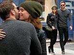 Actress Kate Mara and her boyfriend Jamie Bell kiss on the corner in Soho in New York City on October 22, 2015\n\nPictured: Jamie Bell,Kate Mara\nRef: SPL1158755  221015  \nPicture by: Christopher Peterson/Splash News\n\nSplash News and Pictures\nLos Angeles: 310-821-2666\nNew York: 212-619-2666\nLondon: 870-934-2666\nphotodesk@splashnews.com\n