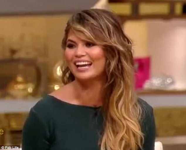 'It was s hard!' Chrissy Teigen thanked her co-stars for keeping her pregnancy news a secret during an episode of her show FABLife this week