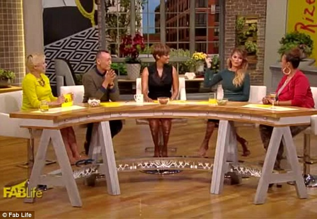 Exciting news: Chrissy stars with Tyra Banks, Joe Zee, Leah Ashley and Lauren Makk on the lifestyle talk show
