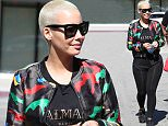 Sherman Oaks, CA - Amber Rose celebrates her birthday and shows off her curves while going out to lunch with some friends in Sherman Oaks. AKM-GSI         October 21, 2015 To License These Photos, Please Contact : Steve Ginsburg (310) 505-8447 (323) 423-9397 steve@akmgsi.com sales@akmgsi.com or Maria Buda (917) 242-1505 mbuda@akmgsi.com ginsburgspalyinc@gmail.com