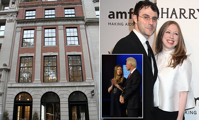 Chelsea Clinton's parents Hillary and Bill 'helped buy her $9m apartment'