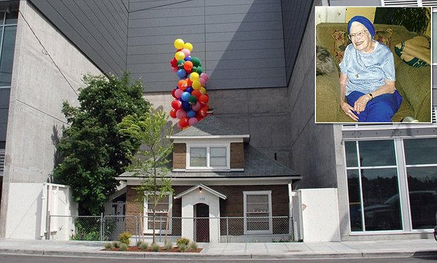 Real-life 'Up' house set to be saved from demolition by OPAL Community Land Trust