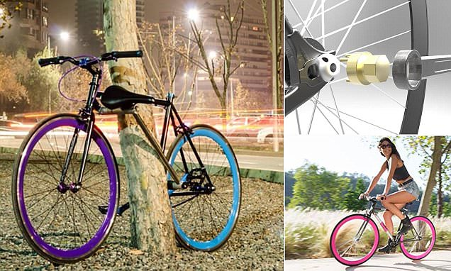 Unstealable Yerka bike designed in Chile goes into production with self-locking frame