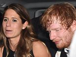 Ed Sheeran leaves the afterparty for his new movie with his girlfriend Cherry Seaborn in London  Pictured: Ed Sheeran,Cherry Seaborn Ref: SPL1157965  221015   Picture by: Splash News  Splash News and Pictures Los Angeles: 310-821-2666 New York: 212-619-2666 London: 870-934-2666 photodesk@splashnews.com